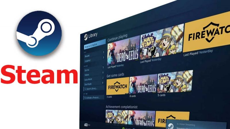 Steam APK for Android TV